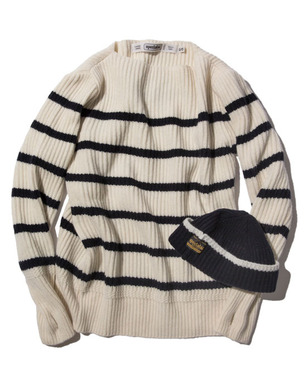 [NAVAL SWEATER BN W]