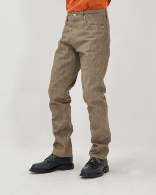 FAKE 6POCKET PANTS-C.D.