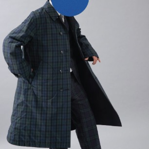 SPY COAT(TYPE-B/C)-N/B